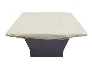 "Square Chat Table and Fire Pit Cover 42""-48"""