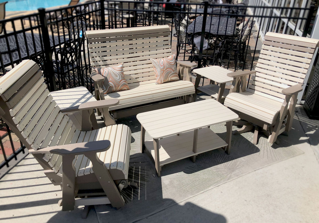 Evermore Casual Rollback Poly Outdoor Furniture Collection
