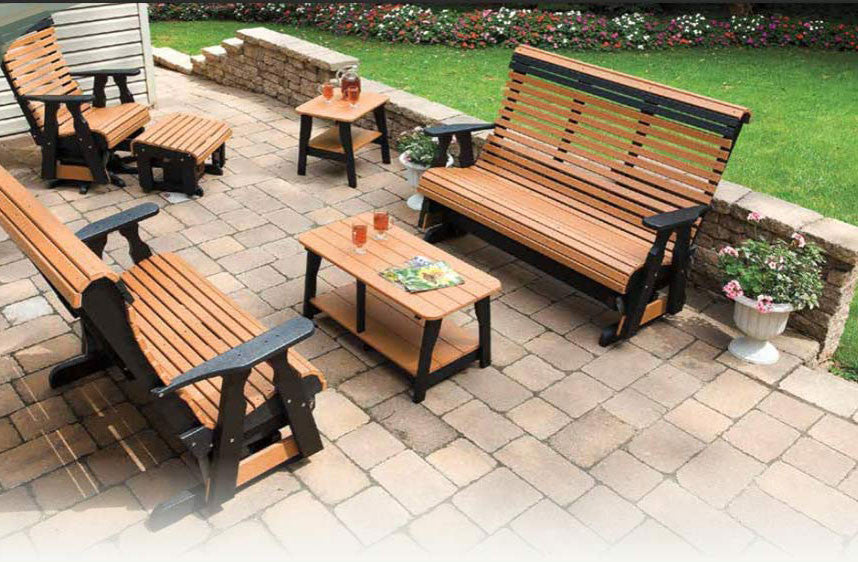 Country View Rollback Poly Seating