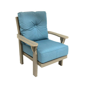 Reynolds cushioned poly lumber chair