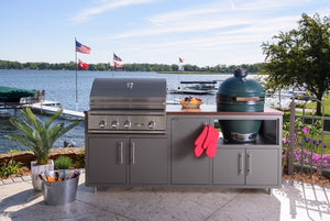 Challenger Big Green Egg Kitchen Island