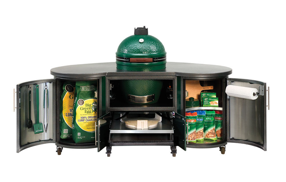 Big Green Egg Chef Islands Leisure Depot