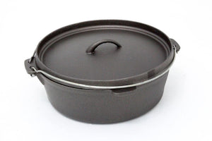 Big Green Egg Cast Iron Dutch Oven