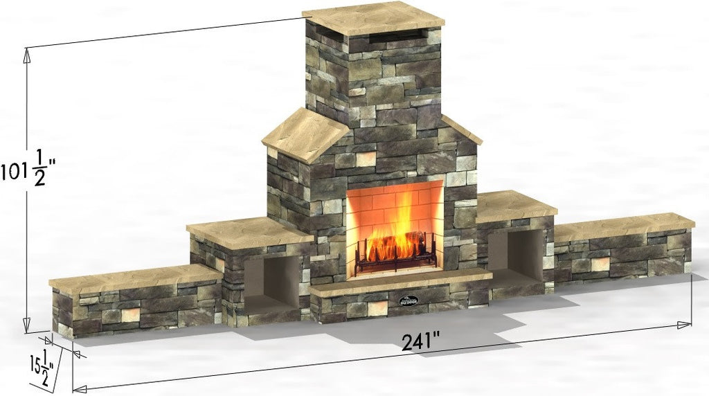El Capitan - Select Series Outdoor Fireplace