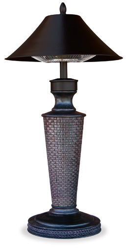Bahama Outdoor Electric Table Lamp Heater