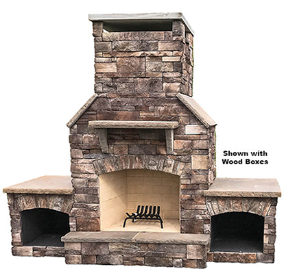 Half Dome - Select Series Outdoor Fireplace
