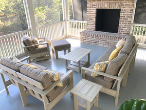 Hendricks Amish outdoor furniture with cushions
