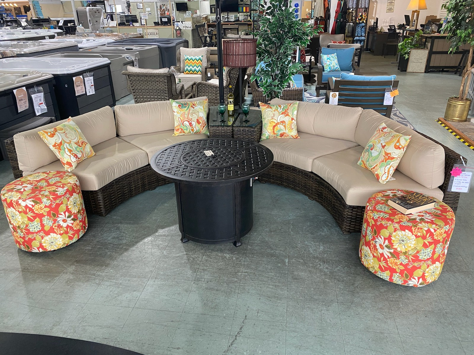 Bellanova Curved Sectional