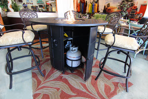 Newport Counter Height Fire Table by Hanamint