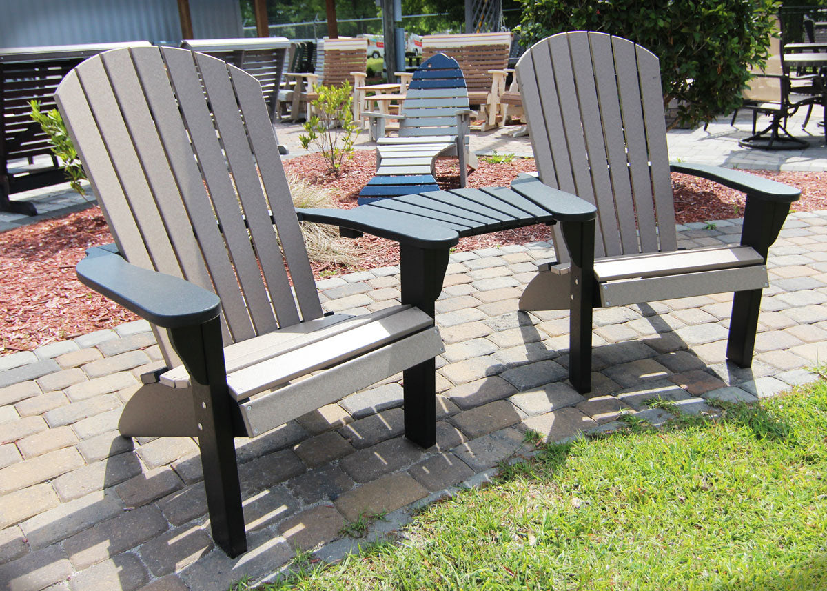 Picture of: Evermore Casual Recycled Poly Adirondack Chairs Leisure Depot