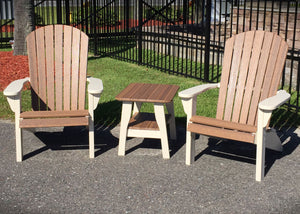 Amish Recycled Poly Adirondack Chairs