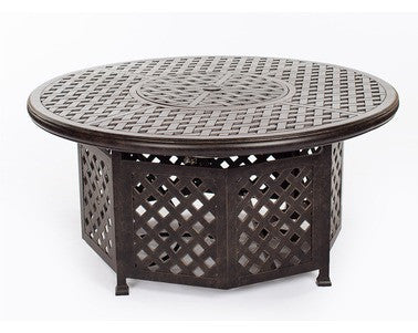 "Valencia 52"" Gas Fire Pit Table"