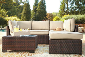 Compact II Sectional with Ottoman