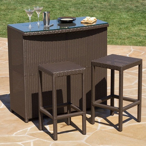 Malibu Bar 3 Pc. Set