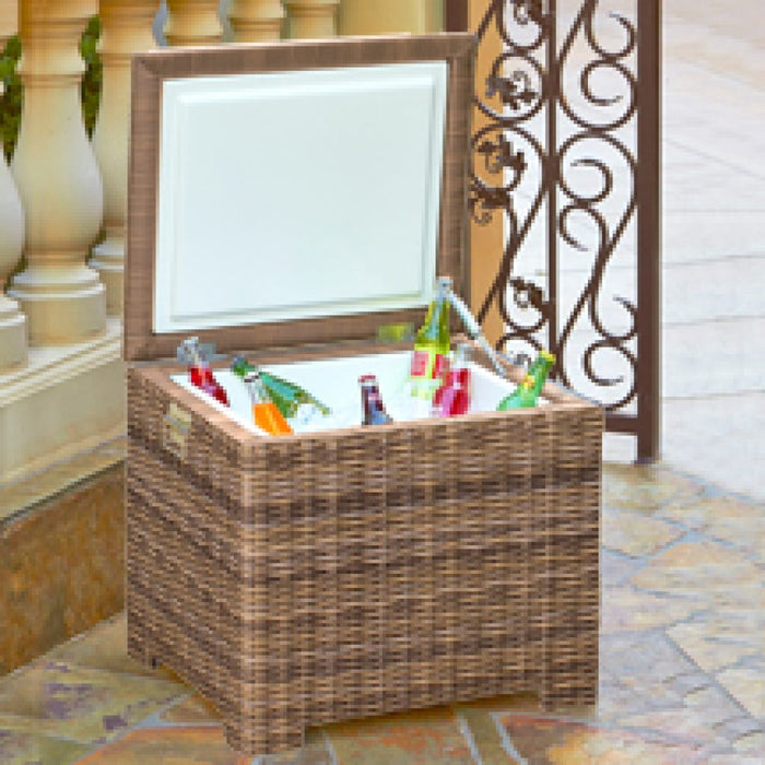Wicker Ice Chest