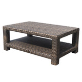 Elegance wicker furntiure coffee table