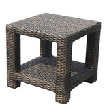 Elegance wicker furntiure end table