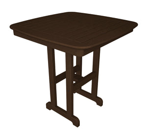 "POLYWOOD™ 37"" La Casa Cafe Square Counter Height Dining Set"