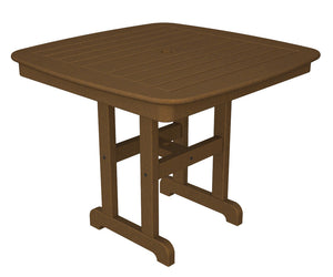 "POLYWOOD™ 37"" La Casa Cafe Square Dining Set"