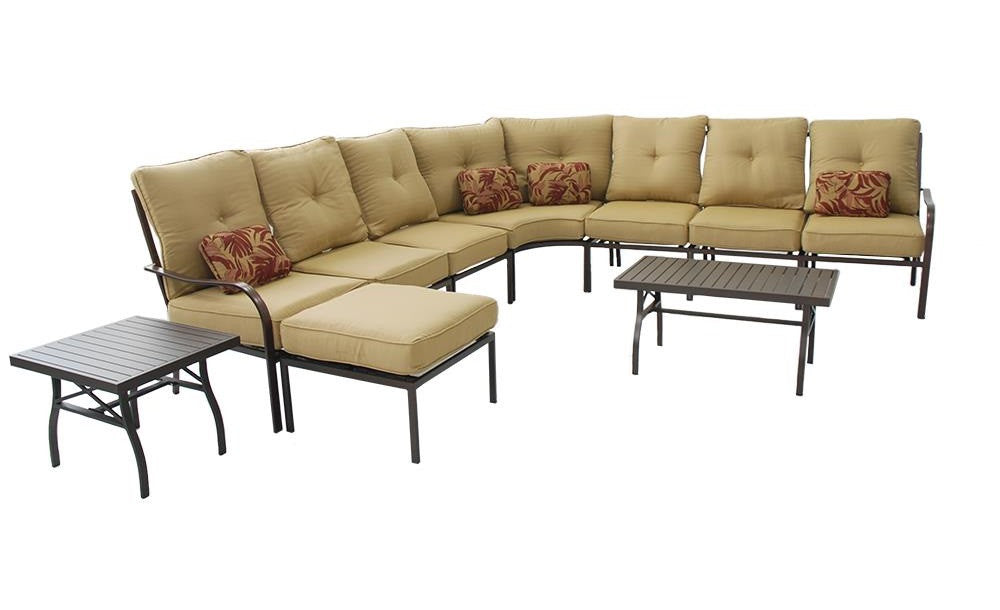 Valencia 9 Piece Outdoor Sectional