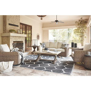 5 Piece Sofa Set with Swivel Rocker