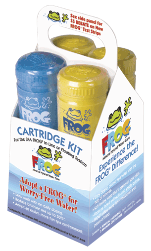 SPA FROG 4 PK CARTRIDGE
