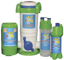 Frog Leap Pool sanitizing system Infuzer