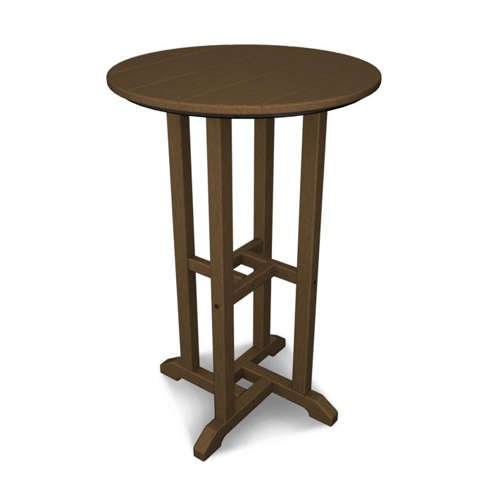 "POLYWOOD™ 24"" La Casa Cafe Round Counter Height Table"