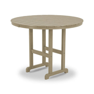 "POLYWOOD™ 48"" La Casa Cafe Round Counter Height Table"