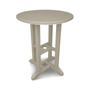 "POLYWOOD™ 24"" La Casa Cafe Round Table"