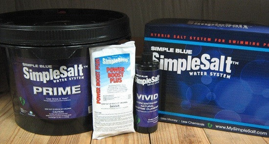 Simple Salt Kit for Pools 24' or Smaller (8 Week)