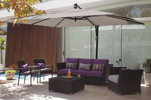 akzrt rectangle cantilever umbrella