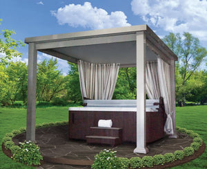 Ultimate Cabana with Thermal Roof