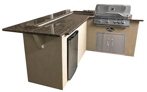 Select Series Triple Crown - Outdoor Kitchen Island