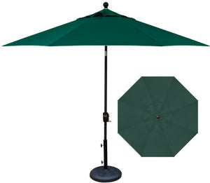 Umbrella - 9' Push Button Tilt Hexagon (6 Rib)