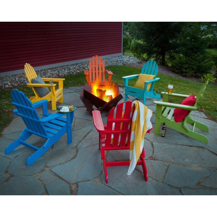 POLYWOOD™ Classic Folding Adirondack Chair