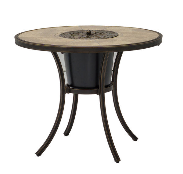 Athens Ice Bucket Table & Bistro Set