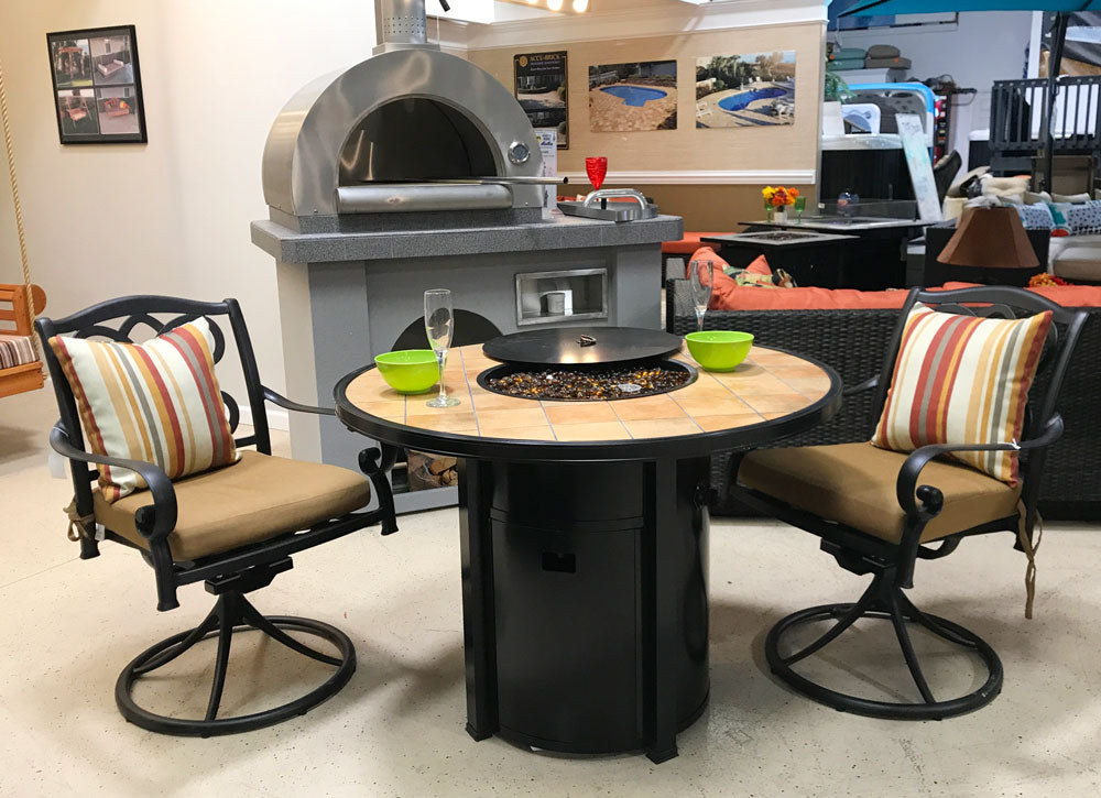 Austin Fire Dining Table Set