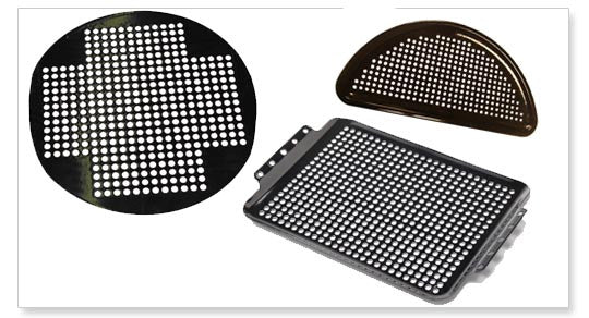 "Big Green Egg 13"" Round Perforated Cooking Grid"
