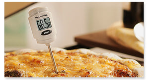 Pocket digital food / meat thermometer