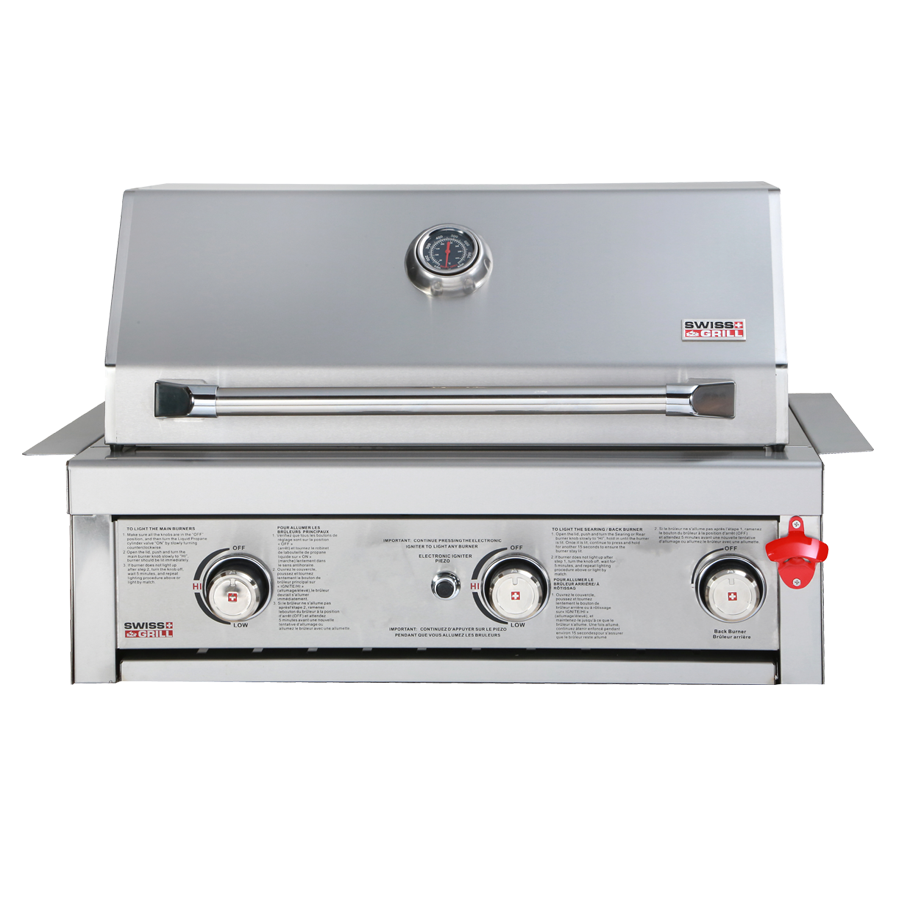 SWISS GRILLS  BI320 BUILT IN STAINLESS GRILL