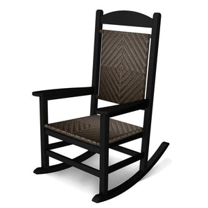 POLYWOOD™ Presidential Woven Rocker