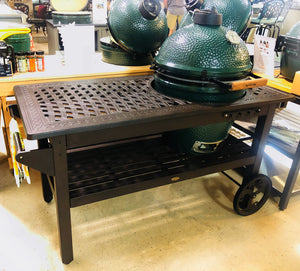 Cast Aluminum Kamado Cooking Cart