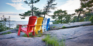 Coastal Adirondack Chairs