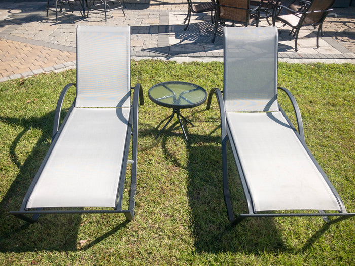 Sling Chaise Lounge Set - 2 for the price of 1!