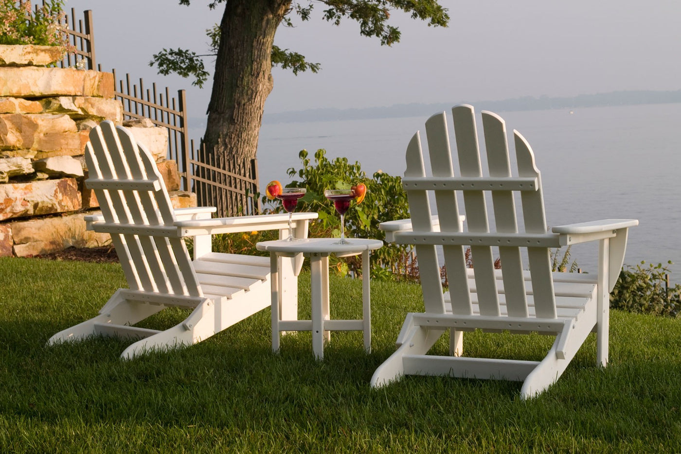Charmant POLYWOOD™ Classic Folding Adirondack Chair
