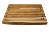 big green egg Teak Cutting Board front view
