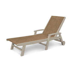 POLYWOOD™ Coastal Wheel Chaise