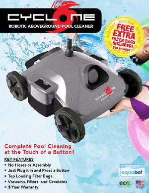 CYCLONE Robotic Pool Cleaner - Industrial