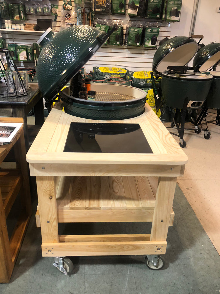 Big Green Egg Cypress Tables Leisure Depot